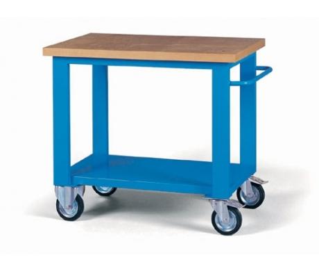 Prodotti attrezzature banchi da lavoro arredo - Tavolo da lavoro con ruote ...